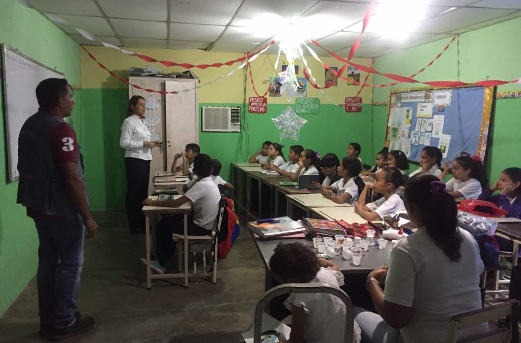 Idenna impulsó campañas preventivas en contra de los fuegos artificiales y  juegos de lotería en Barinas