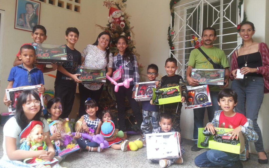 Hijos de los trabajadores del Idenna Táchira recibieron regalos de reyes