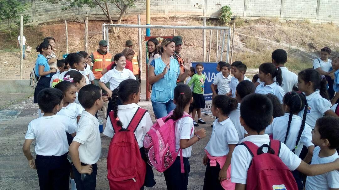 Idenna presente en las actividades del retorno a clases 2018 en Cojedes