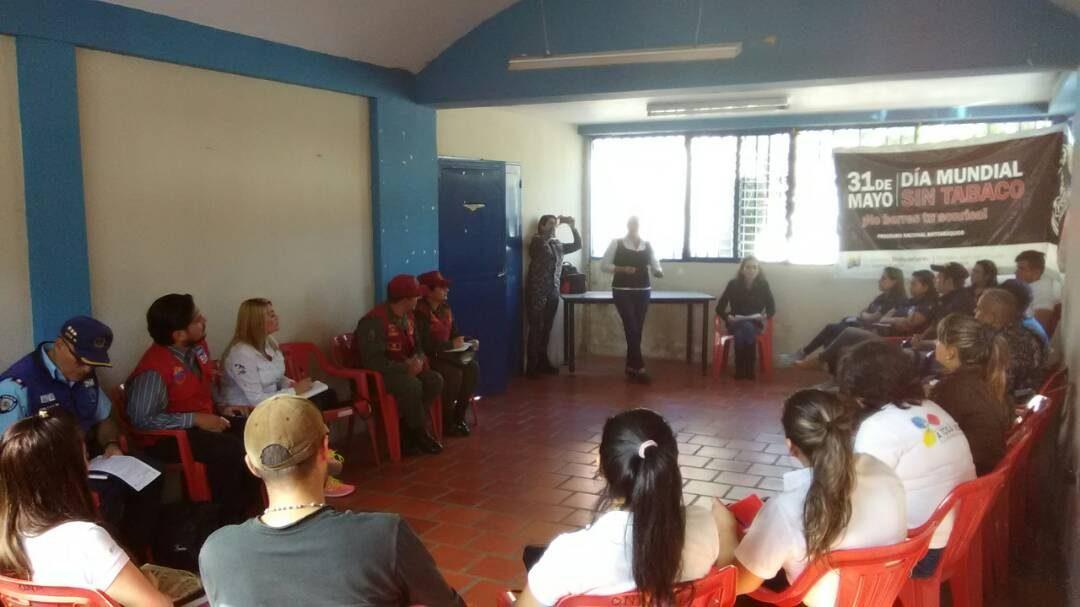 Idenna coordinó plan de abordaje preventivo a instituciones educativas de San Cristóbal