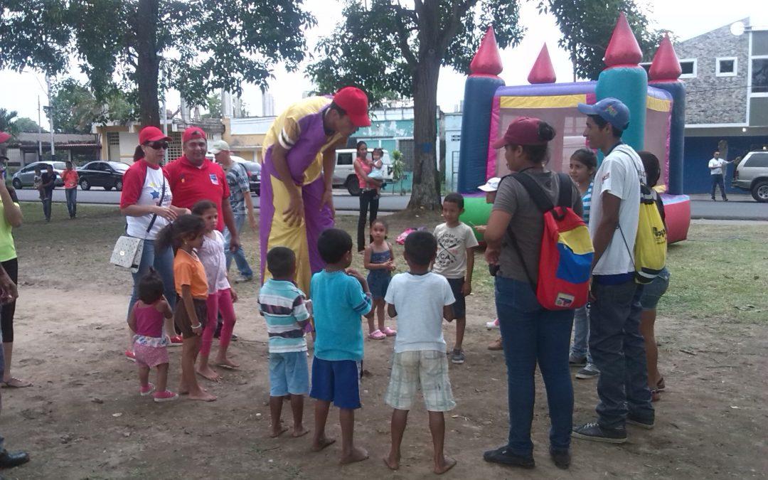 Idenna estuvo presente en los Carnavales 2018 en Delta Amacuro