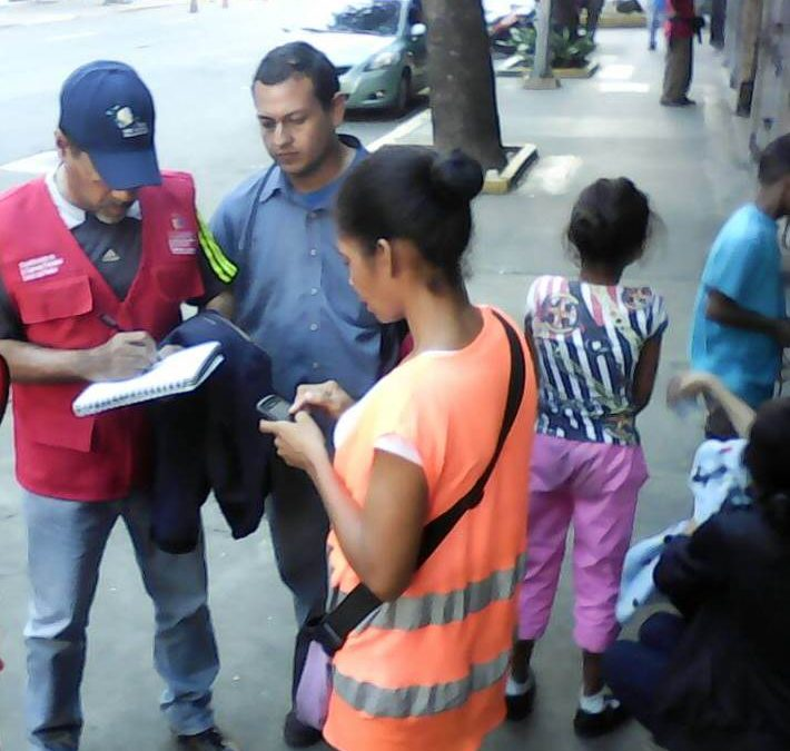 Idenna brindó asesoría y protección en materia infanto-juvenil desde diversos puntos de Caracas