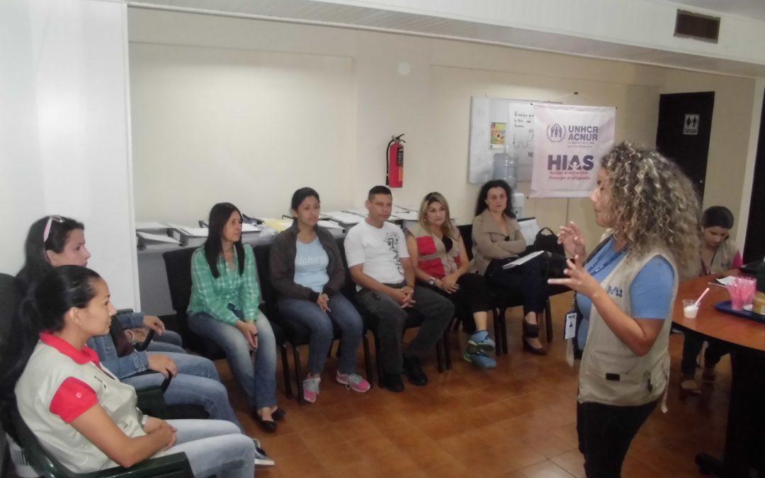 Servidores del Idenna recibieron taller formativo en materia de Refugiados