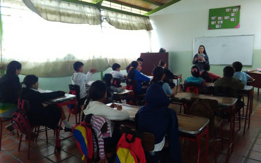"""Estudiantes de la Escuela Bolivariana """"La Puente"""" recibieron taller sobre """"Sexualidad Responsable"""""""