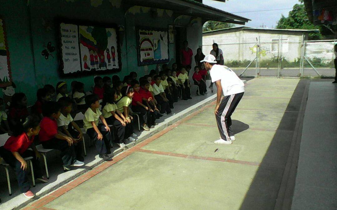 Idenna realizó actividad recreativa para conmemorar la Cruz de Mayo