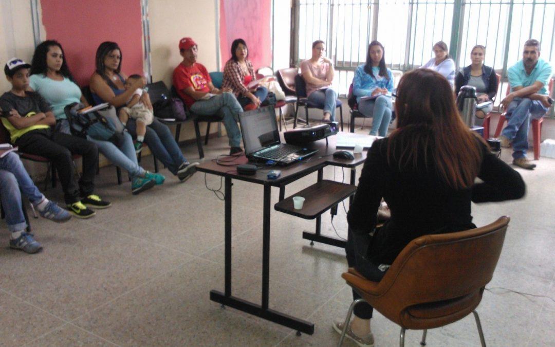 Idenna instruyó en materia de Lopnna a coordinadores de Refugios de la Alcaldía de Libertador