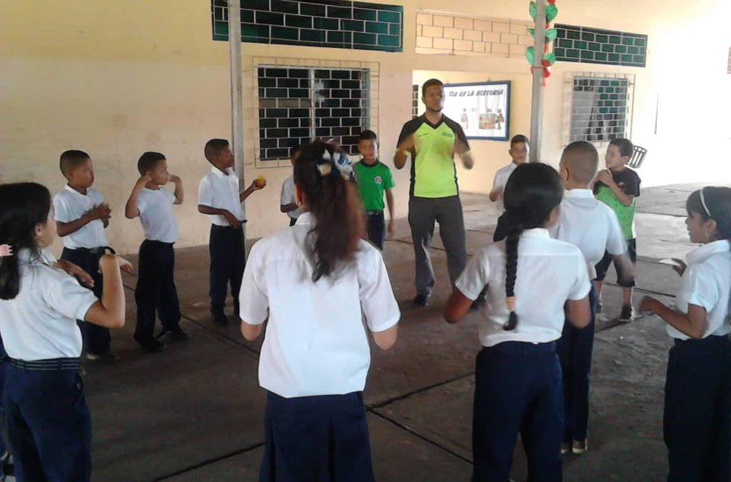 Idenna garantizó el derecho al descanso y la recreación a estudiantes en Tucupita