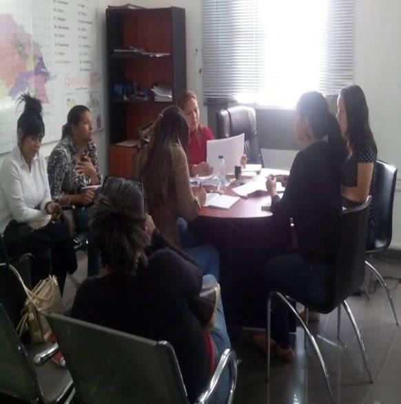 Idenna presentó programas de atención a funcionarios de la Fundación del Niño en Falcón