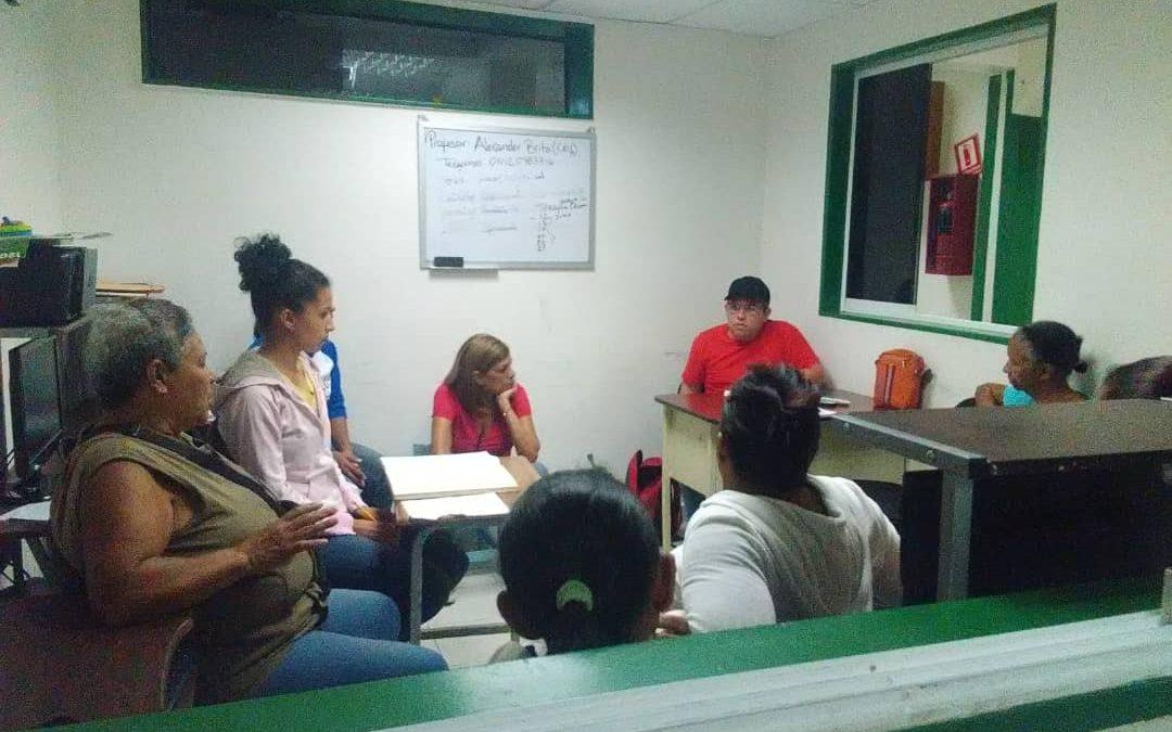 Idenna constató funcionamiento de los Centros Comunales de Protección  Integral (CCPI) en Miranda
