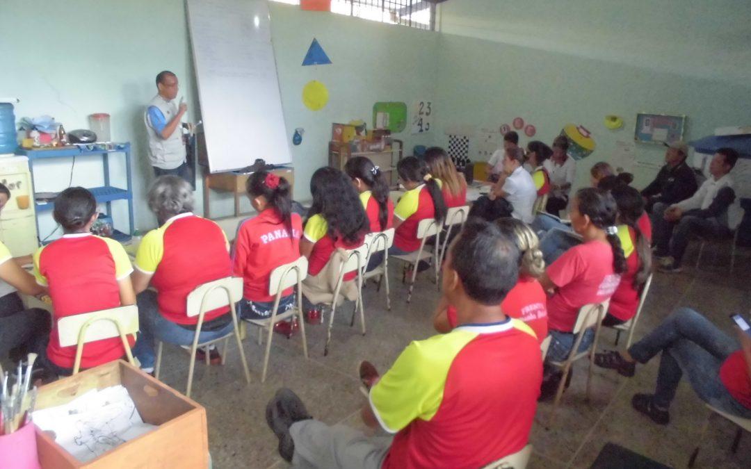 """Idenna dictó 1er módulo en materia de Protección Integral  a docentes del C.E.I. """"Guajira 2"""""""