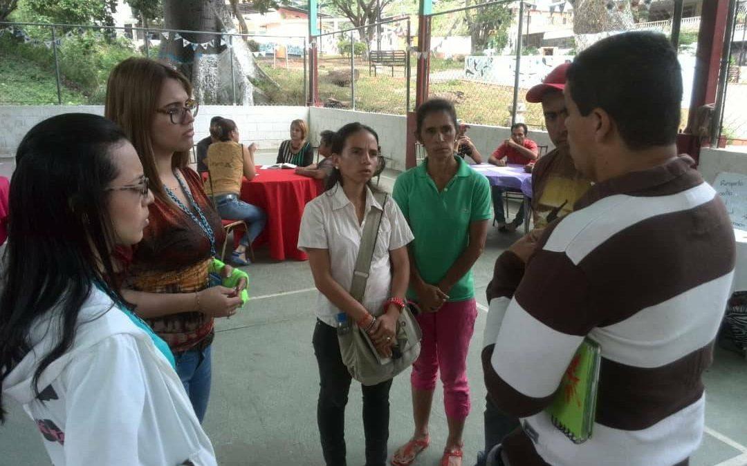 Idenna participó en la conformación de los comités de protección de NNA en el municipio Trujillo