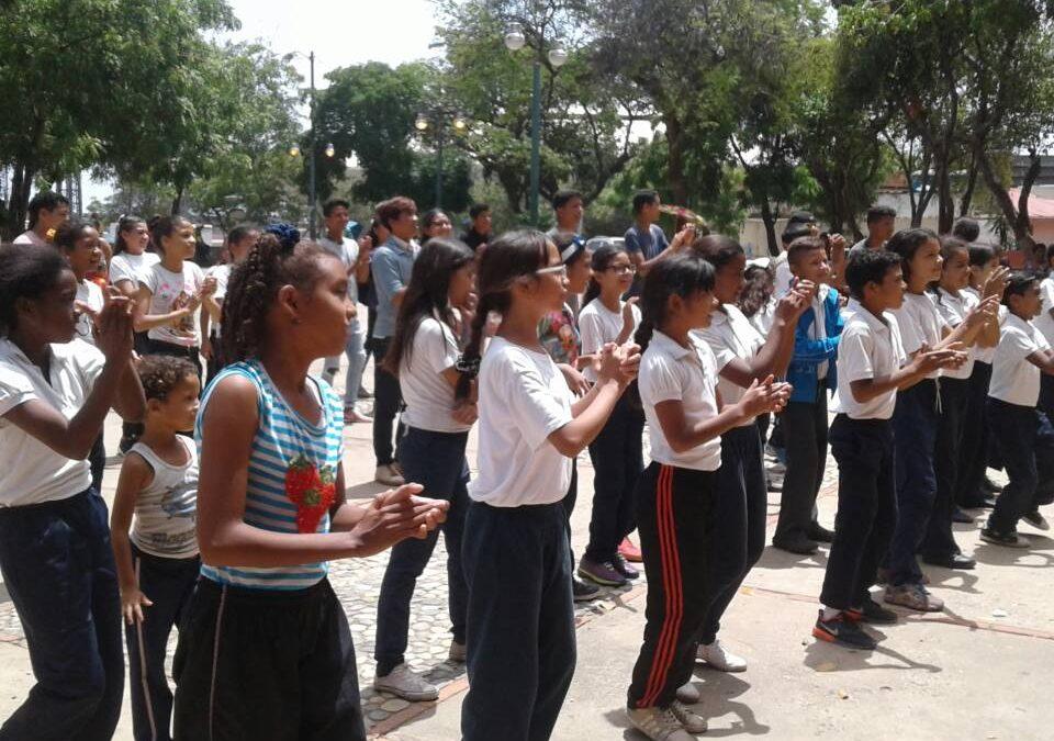Idenna realizó actividad recreativa con niños niñas y adolescentes en el municipio Vargas