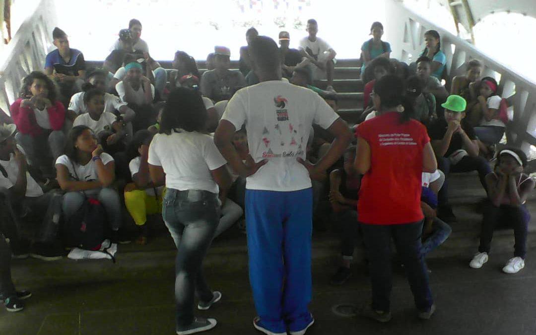 Idenna formó a jóvenes del Movimiento Nacional de Recreadores en el municipio Vargas