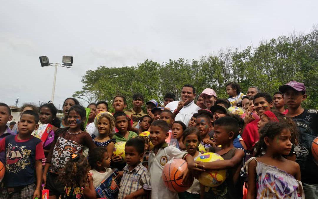 """Sistema de Protección celebró el """"Día del Niño"""" en Falcón"""