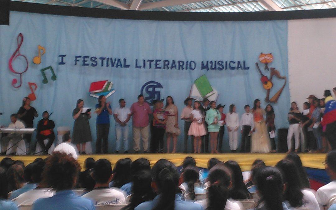 """Idenna apoyó el """"I Festival Literario Musical"""" en Falcón"""