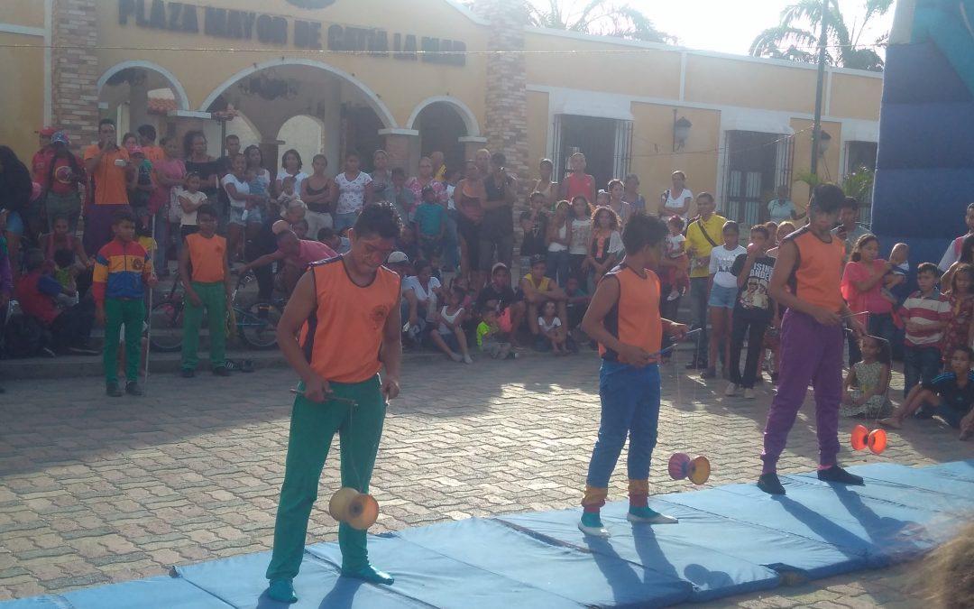 """Idenna realizó actividad recreativa e informativa a NNA enmarcada en la celebración del """"Día del Niño"""" en Vargas"""