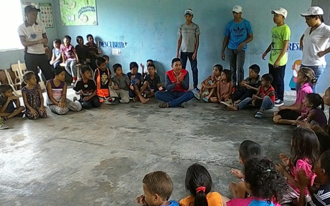 """Idenna realizó actividades formativas y recreativas en la comunidad """"La Bandera"""""""
