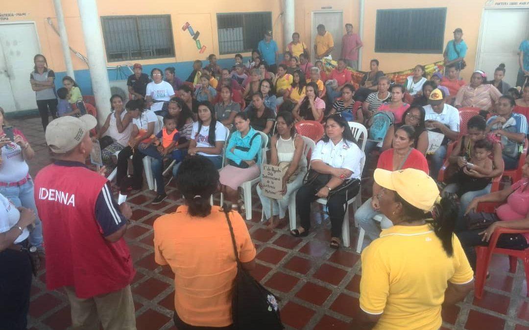 """Idenna realizó taller sobre la """"Lactancia Materna"""" en el Centro de Formación """"Melania Brito"""" en Delta Amacuro"""