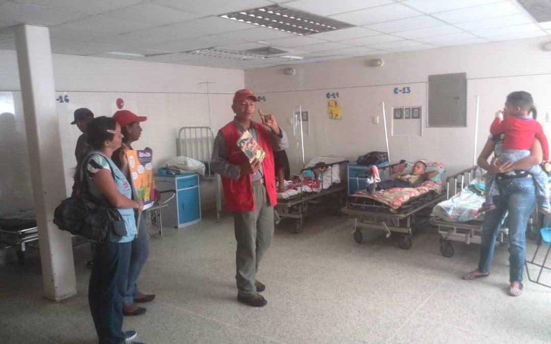 "Idenna realizó conversatorio sobre la ""Lactancia Materna"" en el Materno Infantil ""Oswaldo Brito"" de Tucupita"
