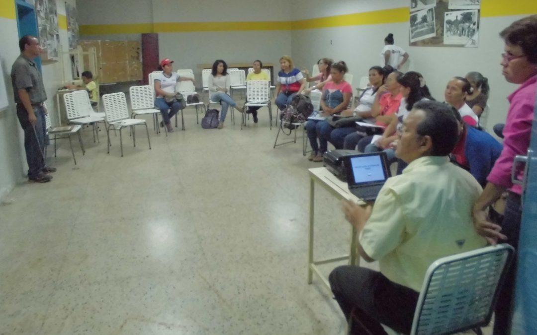 Idenna impartió primer taller sobre Doctrina de Situación Irregular y Doctrina de Protección Integral