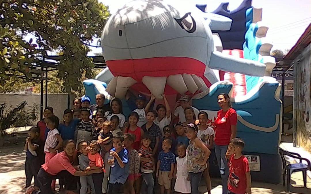 Idenna y Misión Ribas atendieron a niños niñas y adolescentes en el municipio Vargas