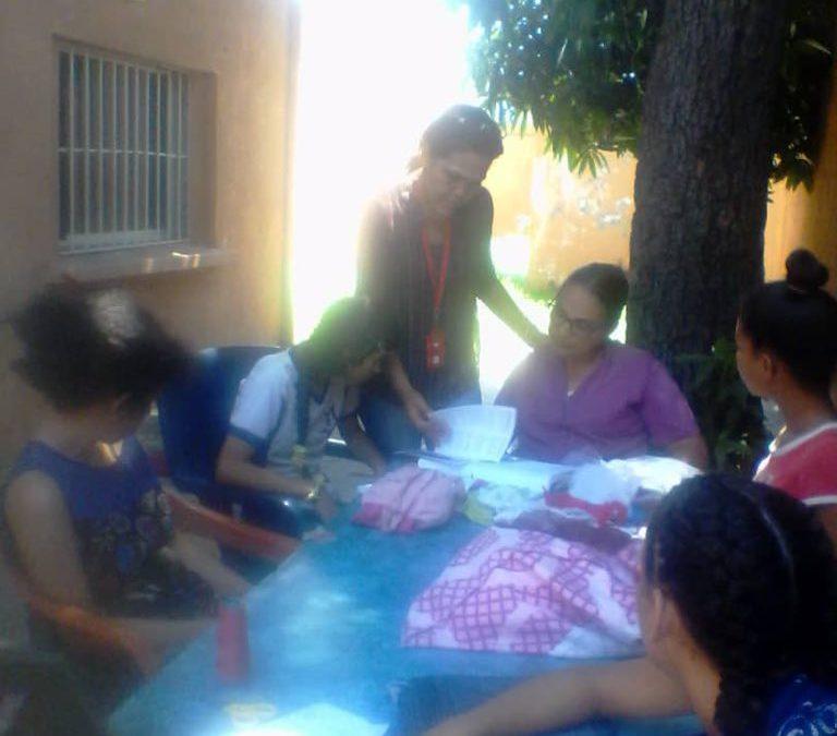 """Adolescentes de la UPI """"Pájaro Guarandol"""" participan en conversatorio de valores"""