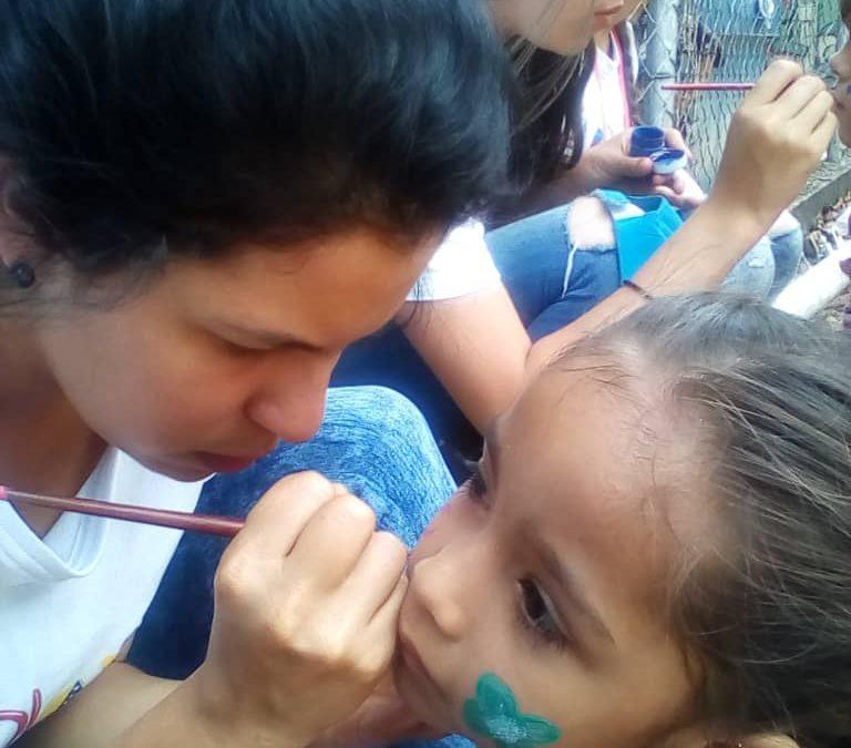 """Con jornada lúdica fueron recreados niños de la parroquia """"La Concordia"""" en Táchira"""