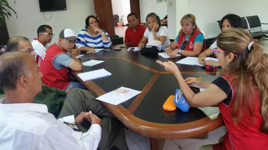 Idenna brindó formación preventiva a defensores de la parroquia Juan de Villegas en Lara