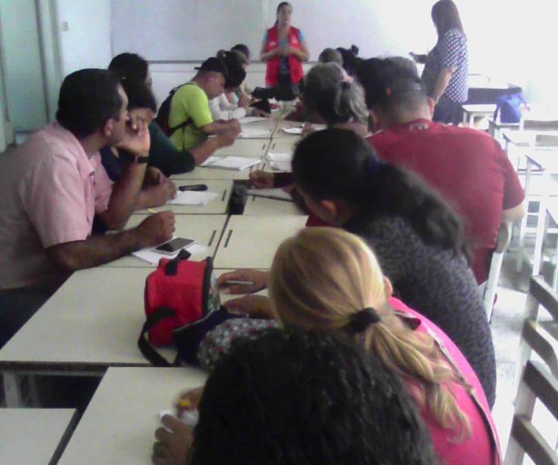 Idenna impulsó comités de protección social de NNA desde las comunas en el estado Lara
