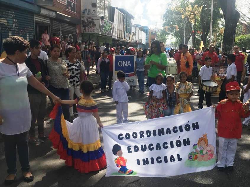 Idenna y Frente Preventivo celebran Semana de Educación Inicial en el estado Monagas