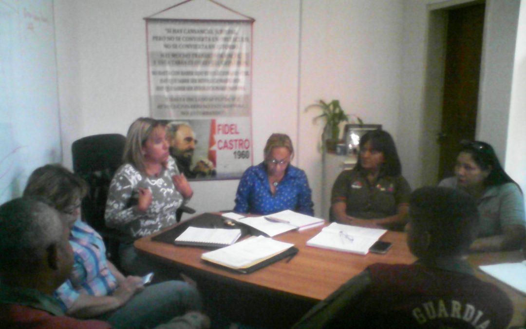 Idenna participó en reunión para el fortalecimiento de los abordajes sociales en Aragua