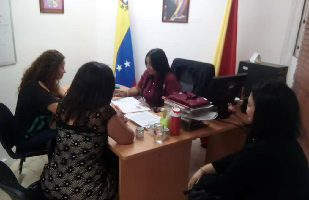 Idenna busca fortalecer relaciones con consejeros de protección de NNA en Aragua