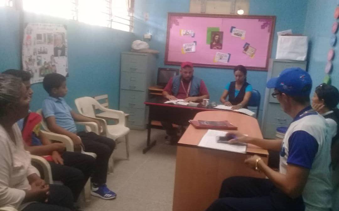 Idenna realizó enlace con el Sistema de Protección Integral del municipio Silva