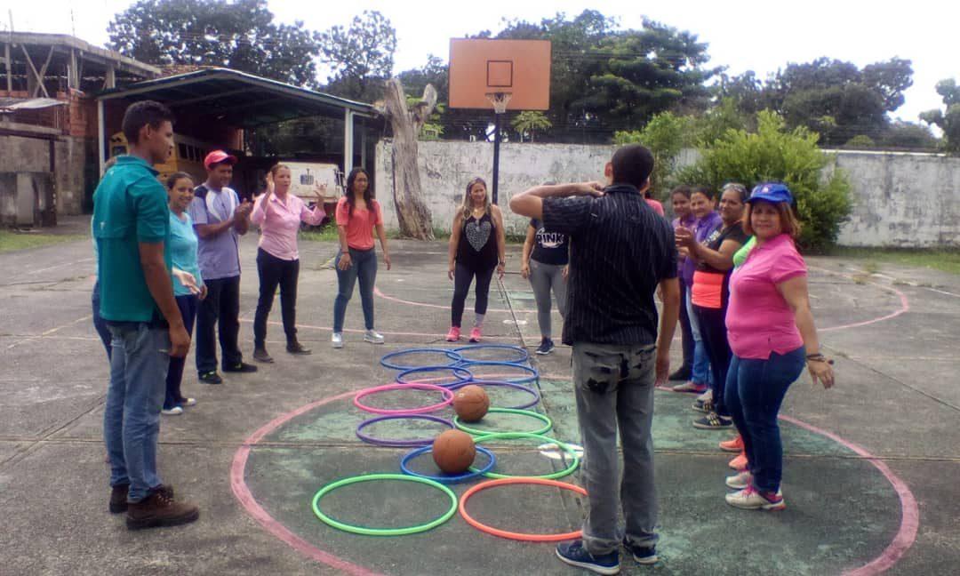 Idenna realizó actividades recreativas con servidores públicos en Portuguesa