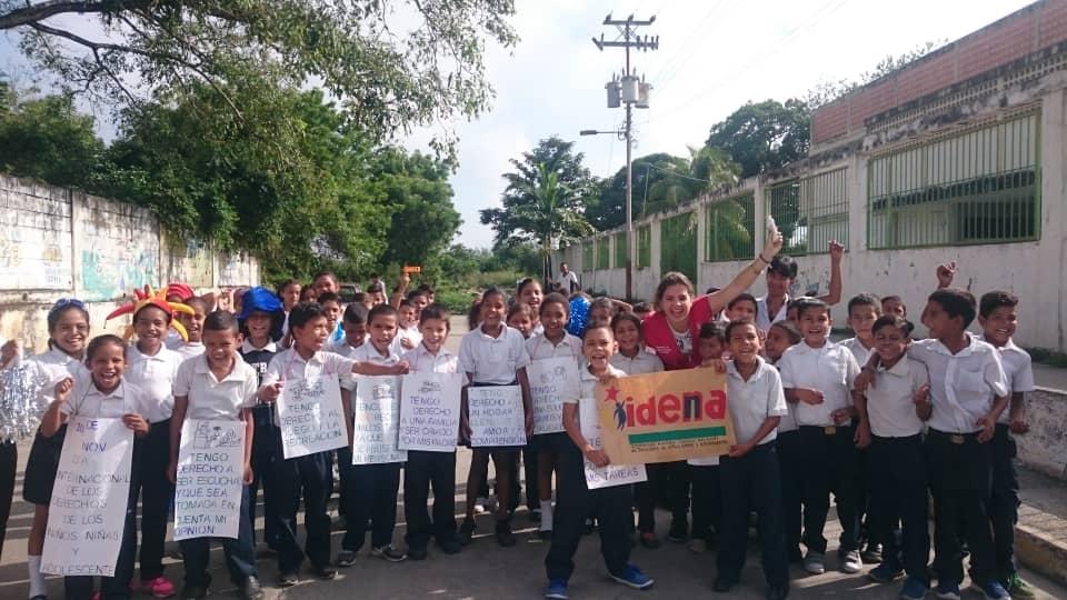 Idenna Yaracuy celebró el Día Internacional de los Derechos del Niño