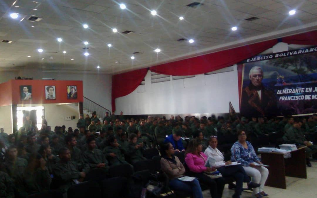 """Idenna impartió taller de """"Responsabilidad Penal en Adolescentes"""" a la Brigada 41 de la FANB del Fuerte Paramacay en Carabobo"""