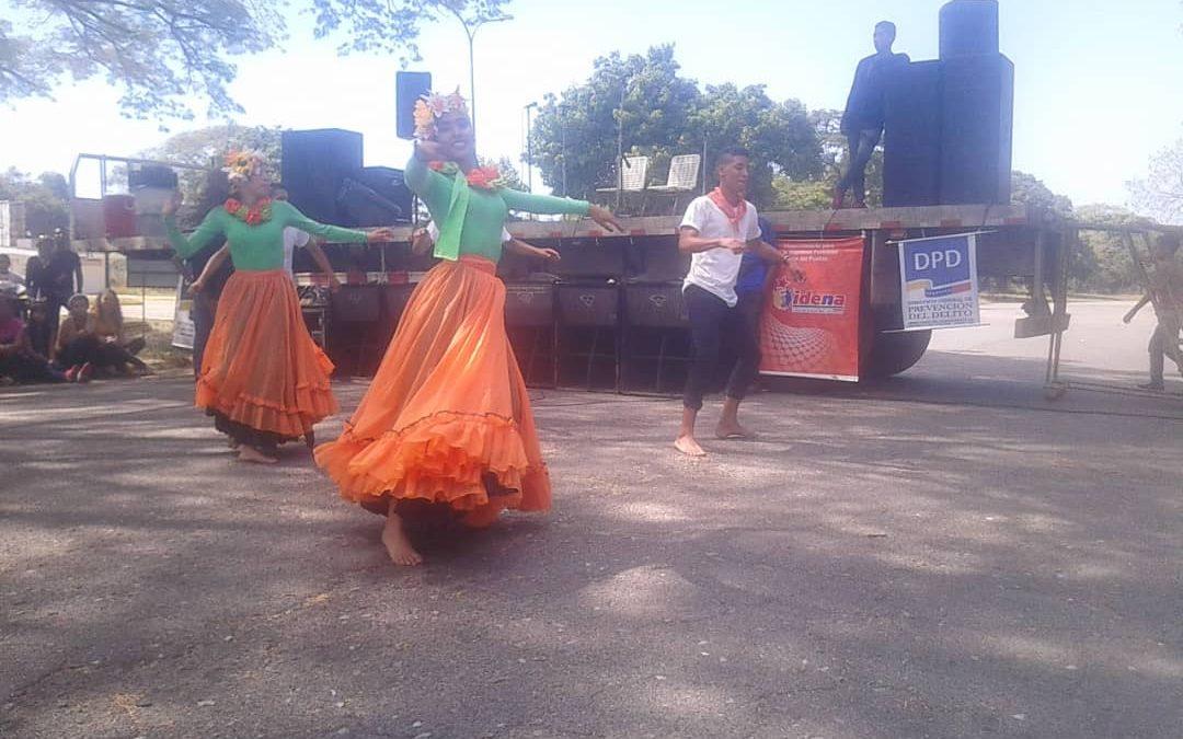 Idenna y Frente Preventivo realizaron actividades recreativas y culturales con los hijos e hijas del personal de la UNEFA