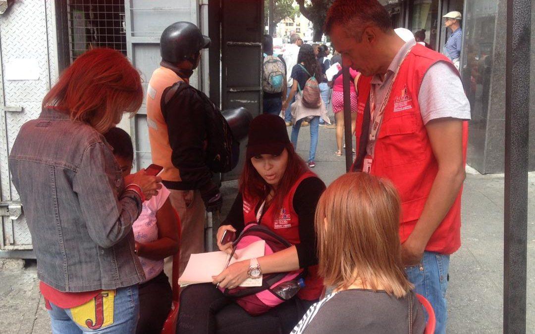 Idenna orientó a la población para garantizar los derechos y deberes de NNA en Caracas