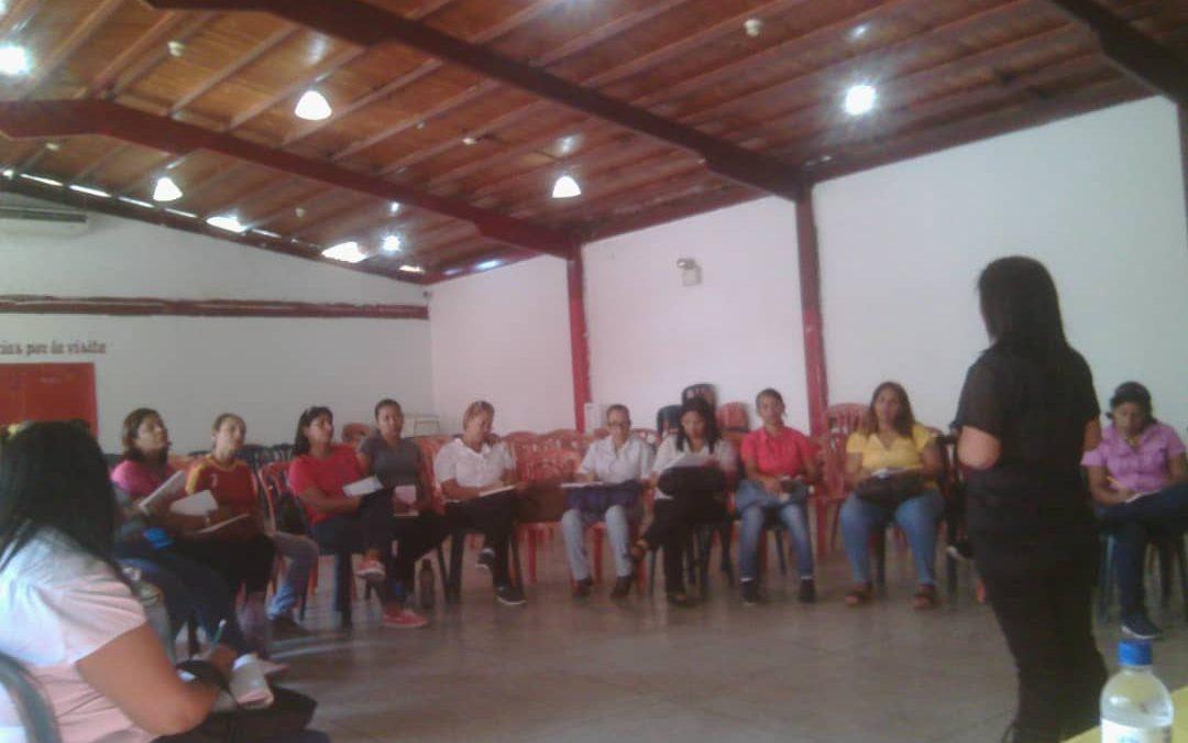 Idenna evaluó postulados a Defensores Educativos mediante Socio- Drama en Aragua