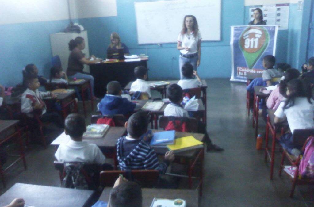 "Idenna dictó charla sobre ""Valores en el ámbito educativo"" a estudiantes de E. B. ""Córdoba"" en Táchira"