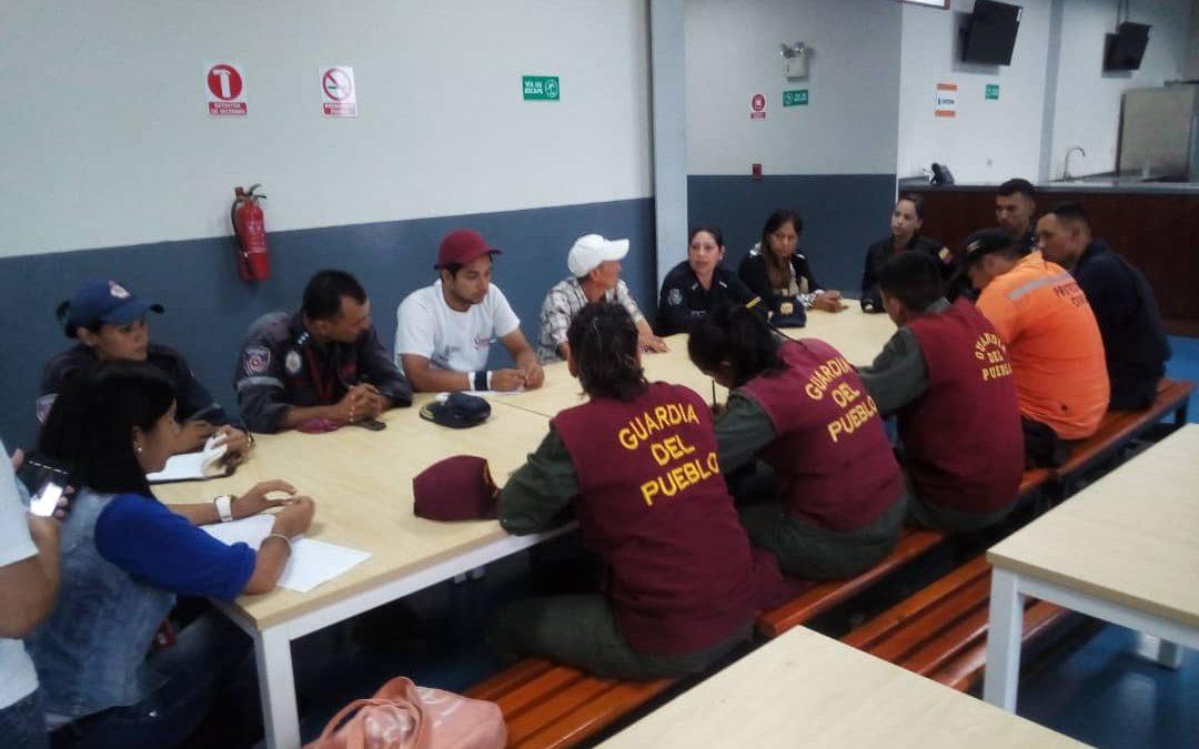 Idenna realizó mesa de trabajo con instituciones preventivas del municipio Sucre en Trujillo