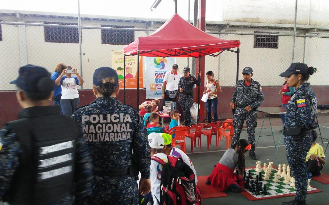 """Idenna participó en la jornada denominada """"Jugamos y Construimos la Paz para la Vida"""" en Lara"""