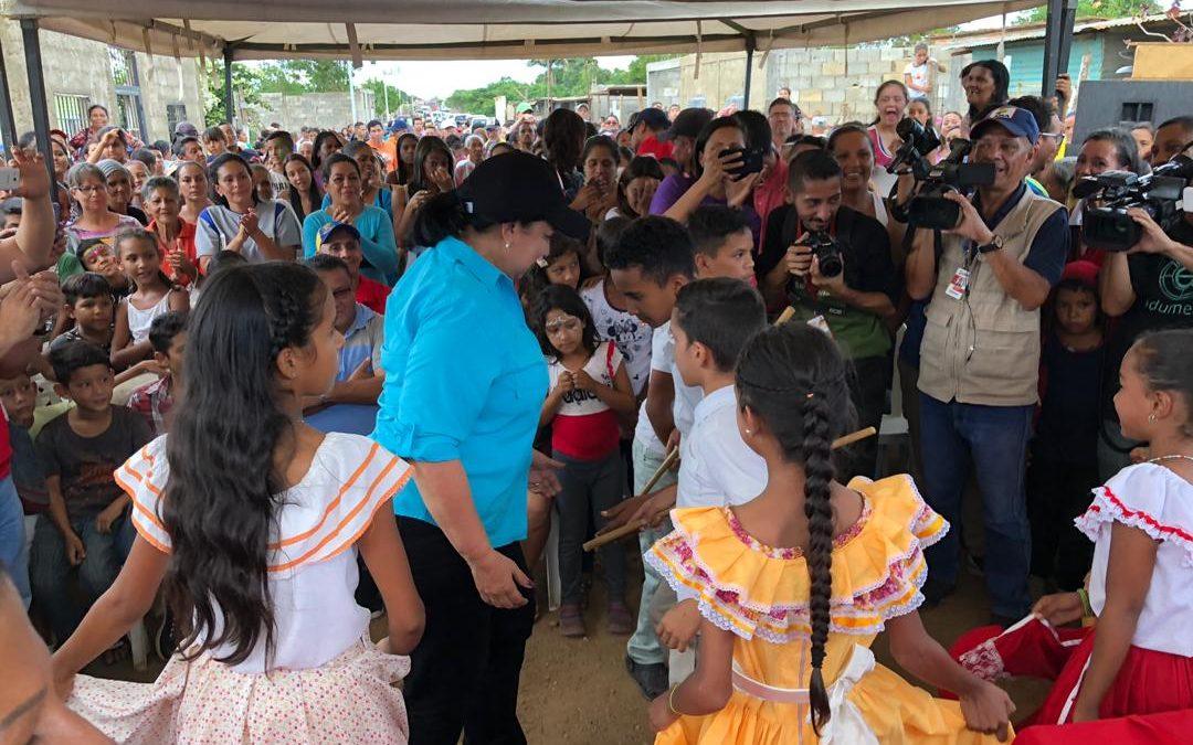 Idenna asumió compromisos sociales con víctimas de la guerra económica en el estado Lara