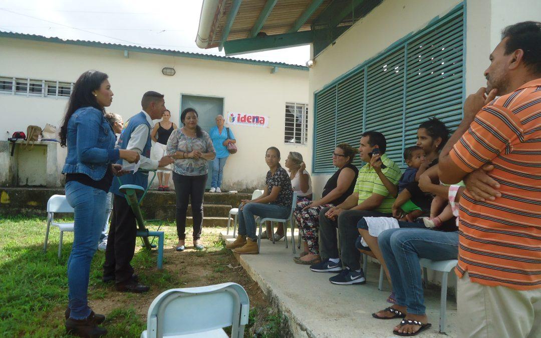 """Idenna impartió orientación sobre """"Responsabilidad de Crianza"""" en el C.E.I. """"Rómulo Gallegos"""" del estado Monagas"""