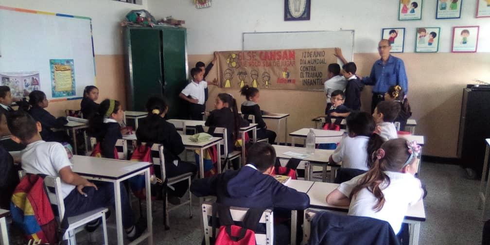 """Idenna realizó actividad integral enmarcada en el """"Día Mundial contra el Trabajo Infantil"""" en el estado Mérida"""