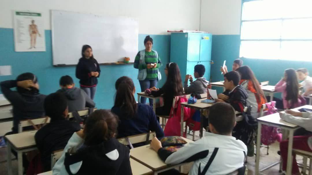 """Idenna dictó charla sobre Derechos Deberes y Lopnna en E.N.B. """"Carlos Rangel Lamus"""" del estado Táchira"""