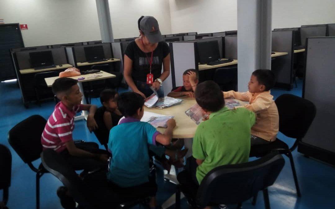 """Idenna conformó Brigada de Comunicación Popular en la escuela """"Mamá Rosa"""" del estado Trujillo"""