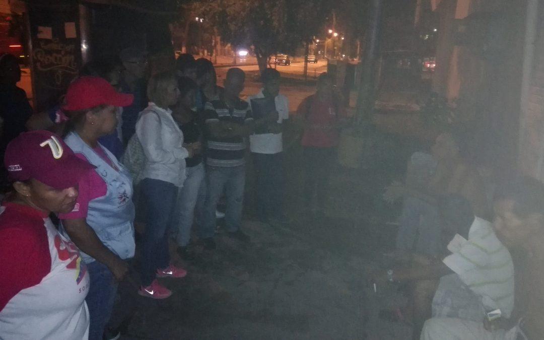Idenna realizó abordaje nocturno para la atención de víctimas de la guerra económica en el estado Anzoátegui