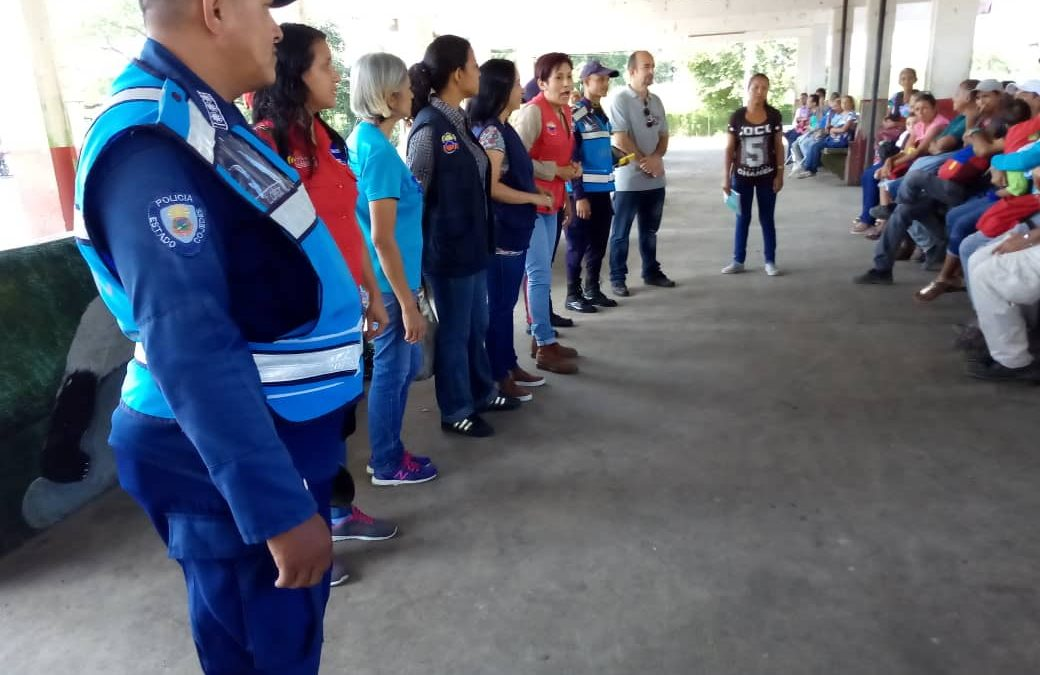 Idenna y Frente Preventivo realizaron conversatorio a usuarios del terminal de pasajeros en el estado Cojedes