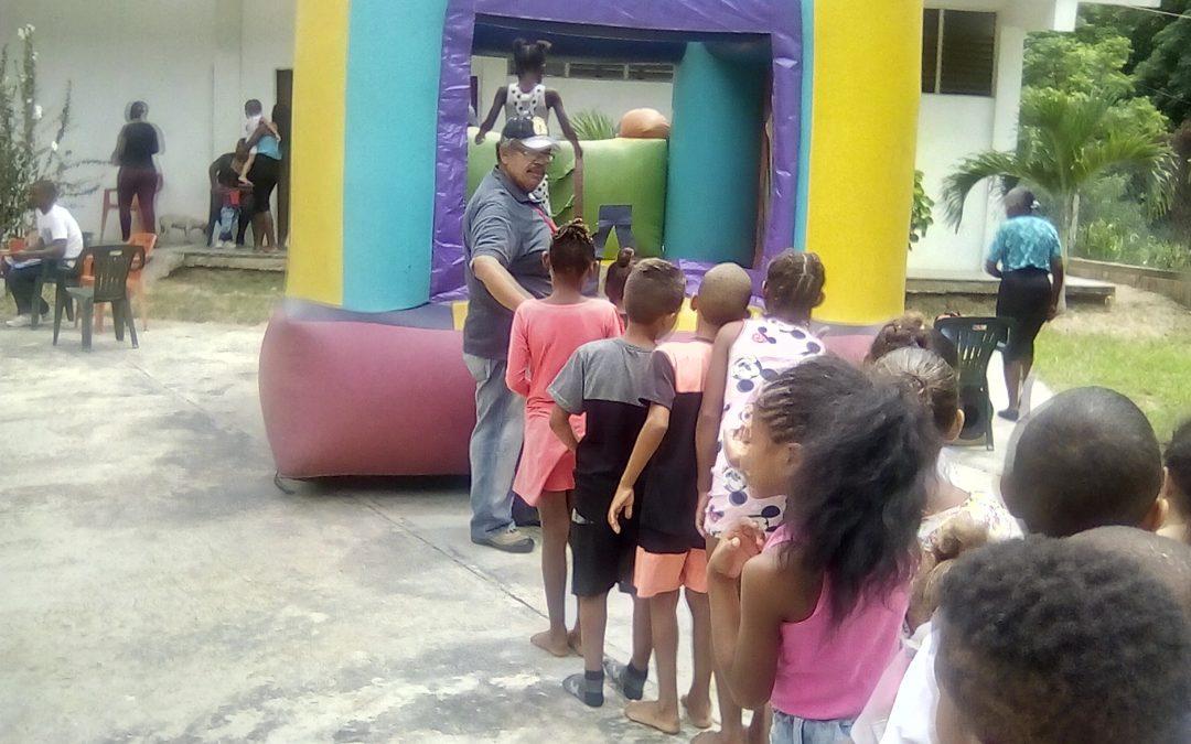 "Idenna atendió a niños y niñas en la E.B.E. ""Tirzo José Ortiz"" de La Guaira"